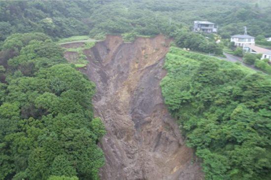 熱海市土石流災害での活用事例
